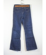 Ralph Lauren Polo Co Flare Blue Jeans Womens Size16 - $37.99