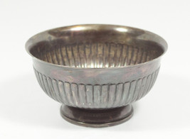 "Silverplated Copper ""Queen Anne"" 5 Inch Bowl by Fisher - $23.51"