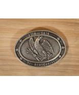 Vintage Brass Belt Buckle Bi-Centinnial America Eagle Country USA - $42.75