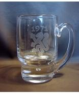 Signed (1971)  Vicke Lindstrand Kosta Boda Glass Mug - $100.00