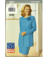 See And Sew Sewing Pattern 4243 Butterick Misse... - $9.98