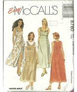 McCall's Sewing Pattern 8780 Misses Womens Dres... - $12.98