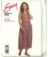 McCall's Sewing Pattern 8765 Stitch 'n Save Mis... - $10.98