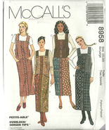 McCall's Sewing Pattern 8958 Misses Womens Jump... - $10.98