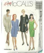 McCall's Sewing Pattern 9170 Misses Womens Dres... - $14.98