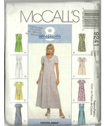 McCall's Sewing Pattern 9241 Misses Womens Dres... - $14.98