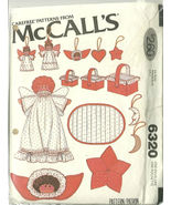 McCall's Sewing Pattern 6320 Christmas Decorati... - $9.98