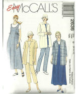 McCall's Sewing Pattern 2636 Misses Womens Mate... - $14.98