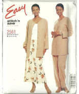 McCall's Sewing Pattern 2561 Misses Womens Skir... - $9.98