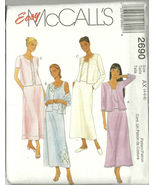 McCall's Sewing Pattern 2690 Misses Womens Skir... - $14.98