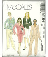McCall's Sewing Pattern 4391 Misses Womens Jack... - $9.98