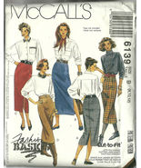 McCall's Sewing Pattern 6139 Misses Womens Skir... - $9.98