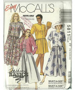 McCall's Sewing Pattern 5811 Misses Womens Top ... - $14.98