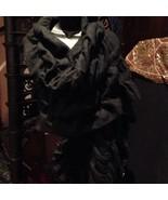 Vintage Black Soft Draping Shawl Wrap - $79.48