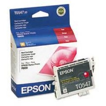 EPSON Ink Photo Red TO54720 Cartridges R800 R1800 toner printer inks Picture - $28.90