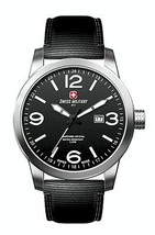 Swiss Military SNIPER 50504 3 N Watch 44mm Black Dial Watch - $185.00