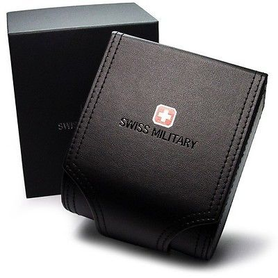 Swiss Military SNIPER 50504 3 N Watch 44mm Black Dial Watch
