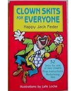 CLOWN SKITS FOR EVERYONE clowning props mime ro... - $12.00