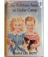 BOBBSEY TWINS at Cedar Camp adventure Laura Lee Hope - $11.00