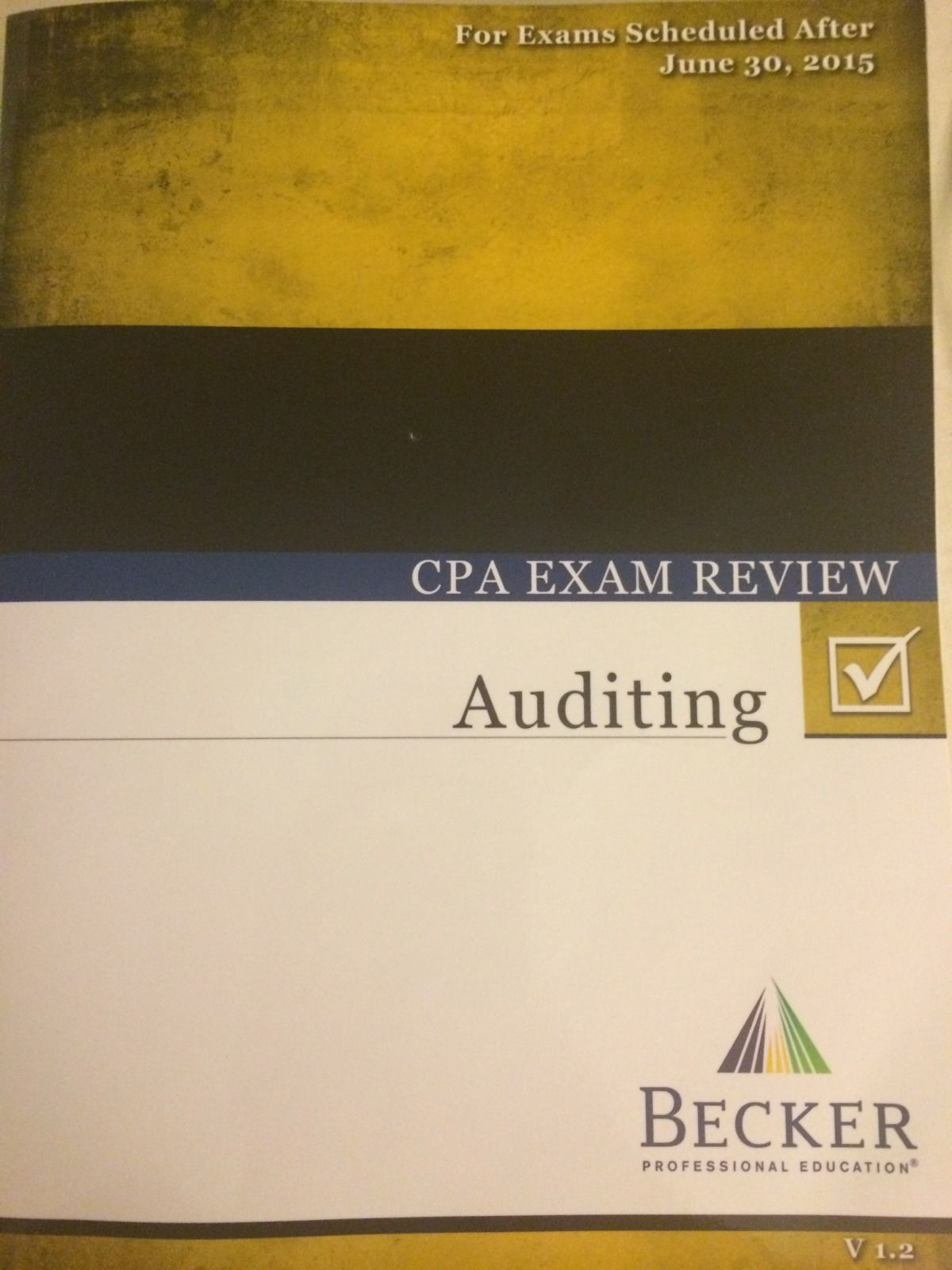 Becker CPA Review - Beat the CPA!