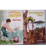 2 Lot TOM SAWYER and HUCKLEBERRY FINN Mark Twai... - $10.00