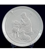 Frankoma 1981 Christmas Plate O Come Let Us Adore Him Shepherd Jesus Pot... - $12.00
