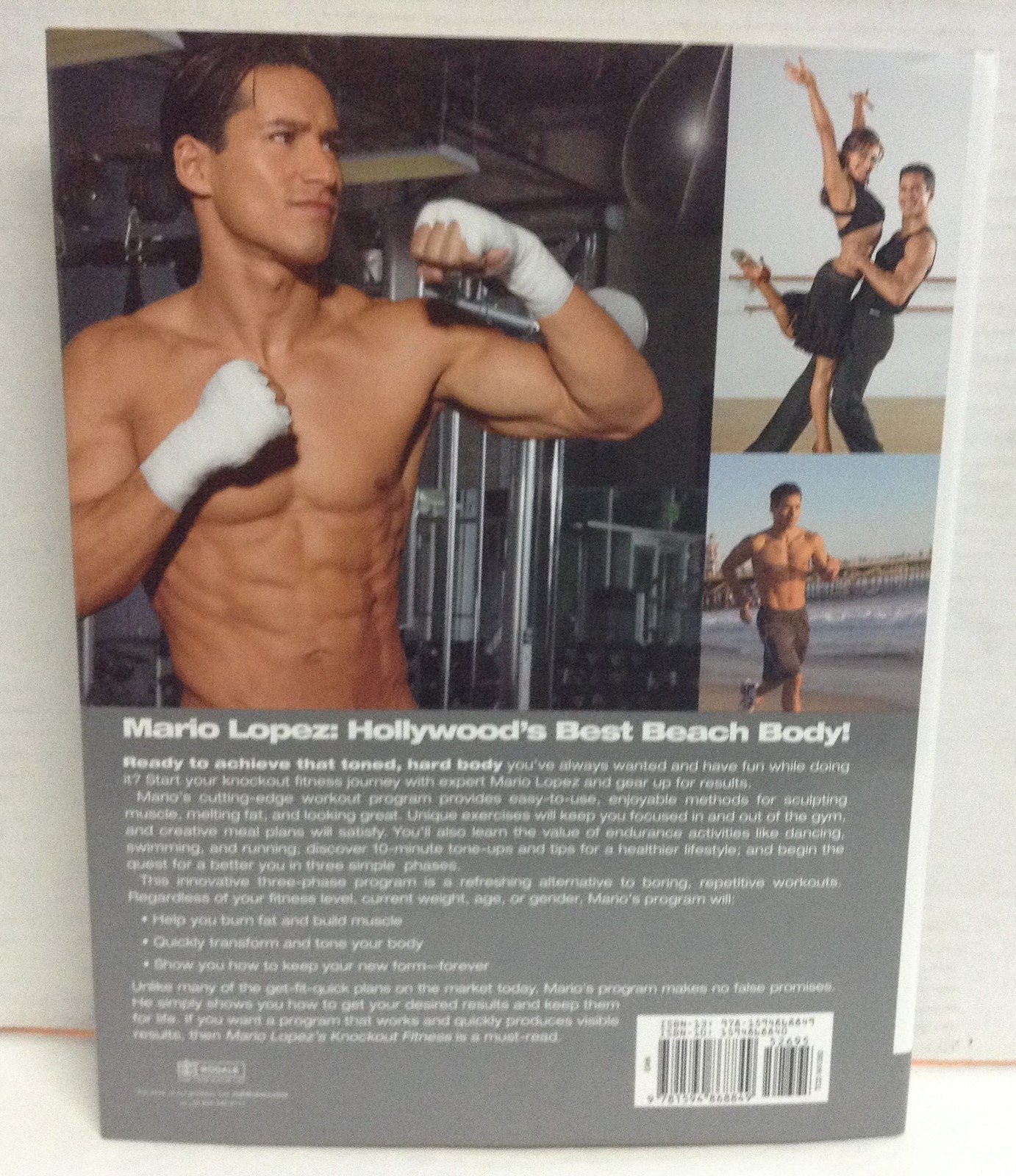 Mario Lopez Knockout Fitness Brand NEW 2008 Body Sculpting Book