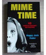 MIME TIME routines staging props makeup sketches themes clown - $7.00