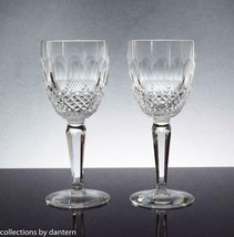 Waterford Crystal Claret Wine Glasses, Colleen Tall Stem (Cut), Set of 2 - $180.00