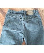"Two Star Dog Womens Jeans Pants Size 6 Inseam 32"" Grey Stripe - $18.50"