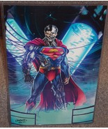 DC Cyborg Superman Glossy Print 11 x 17 In Hard Plastic Sleeve - $24.99