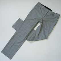NWT Ann Taylor The Straight in Glen Plaid Full Length Stretch Pants 6 x ... - $32.00