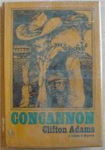 CONCANNON A Double D Western 1972 1st edition hcdj Clifton Adams - $4.00