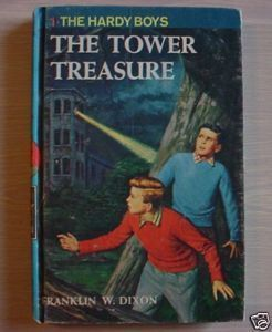Hardy Boys mystery #1 The Tower Treasure Franklin Dixon