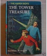 Hardy Boys mystery #1 The Tower Treasure Frankl... - $4.00