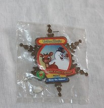 Golden Books Christmas Movie Rudolph Red Nosed Reindeer Frosty The Snowman Pin  image 1