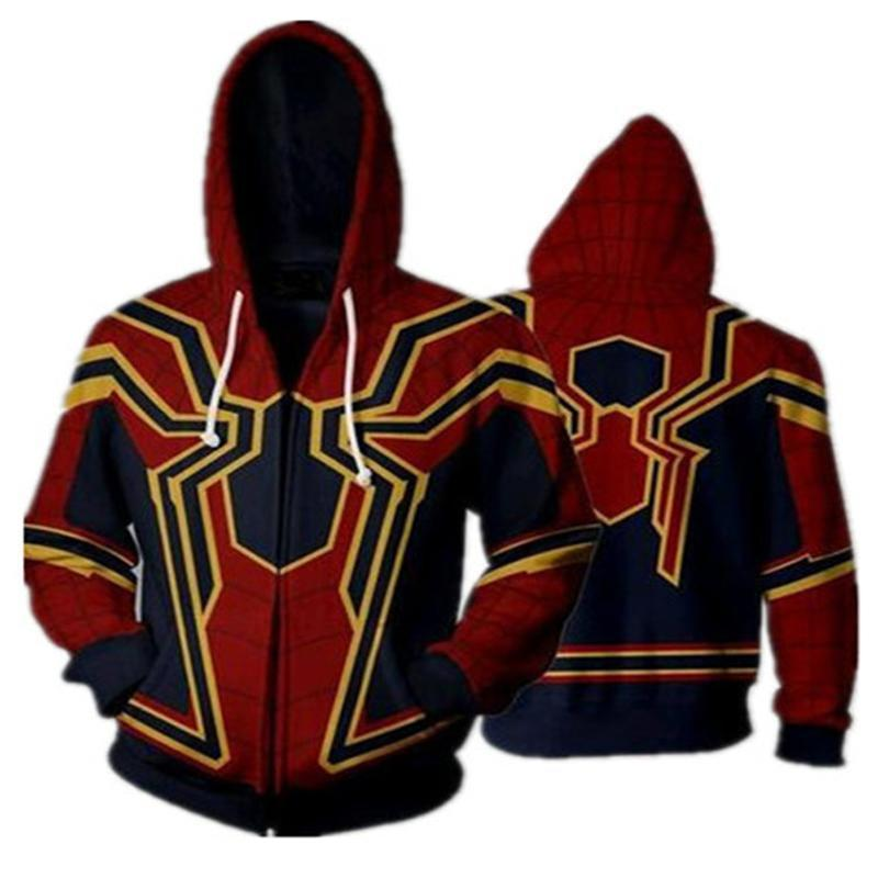 Custom Miles Morales Iron Spider Man Amazing Spiderman Costume Adult Homecoming