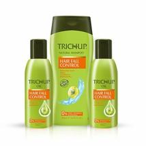 Trichup Hair Fall Control Oil 200 ml x 2 & Shampoo 200 ml - $28.97