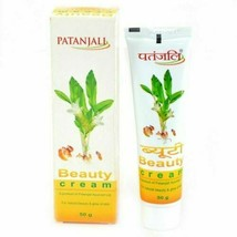Patanjali Beauty Cream For Skin Each Pack 50gm Glow skin and reduces Wri... - $4.67