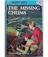 Hardy Boys mystery THE MISSING CHUMS Franklin Dixon unread flashlight ed... - $3.00