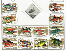 192 Guinea 1969 - 1986 stamps - $14.84