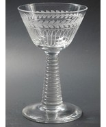 Needle etched martini glass  - $14.90