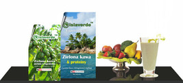 Zielona kawa i Proteiny - Islaverde 200g Green coffee bean powder cryoge... - $12.25