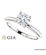 3/4 (0.75) Carat GIA Certified Diamond Ring in 14K Gold (with GIA certif... - $2,599.00