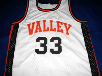 Larry Bird #33 Valley High School Basketball Jersey White Any Size