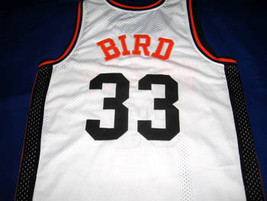 Larry Bird #33 Valley High School Basketball Jersey White Any Size image 2