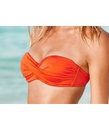 NWT Victoria's Secret Knockout Bandeau Top in Carrot Cake. 34D - $34.00