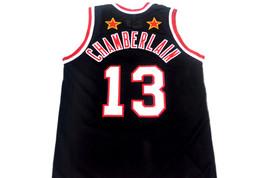Wilt Chamberlain #13 Harlem Globetrotters Basketball Jersey Black Any Size image 2