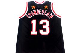 Wilt Chamberlain #13 Harlem Globetrotters Basketball Jersey Black Any Size image 4