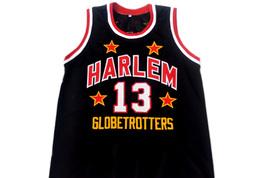 Wilt Chamberlain #13 Harlem Globetrotters Basketball Jersey Black Any Size image 5